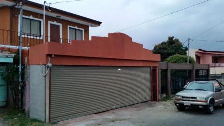 Cortina metálica garaje