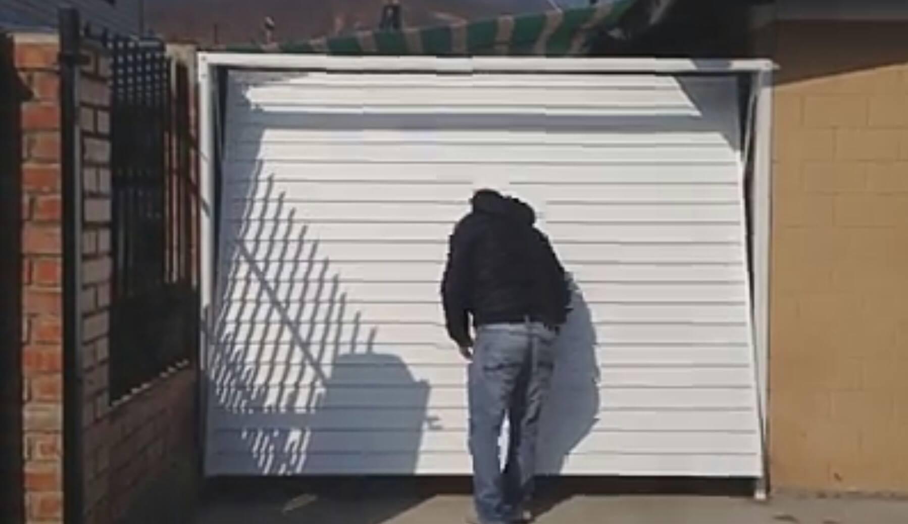 Forma de abrir este portón