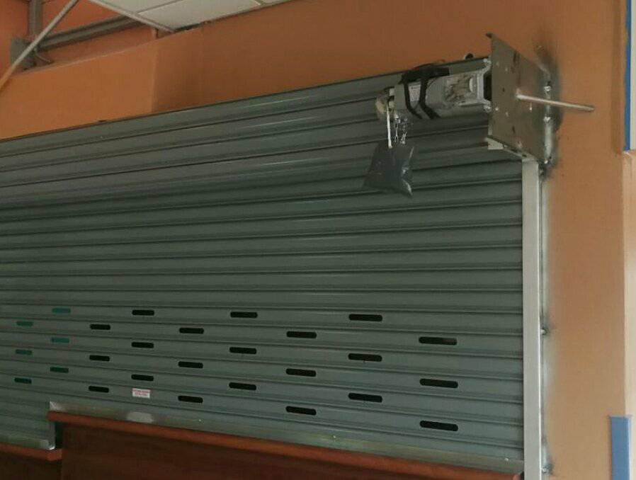 Instalación de motores para portones arrollables en todo Costa Rica