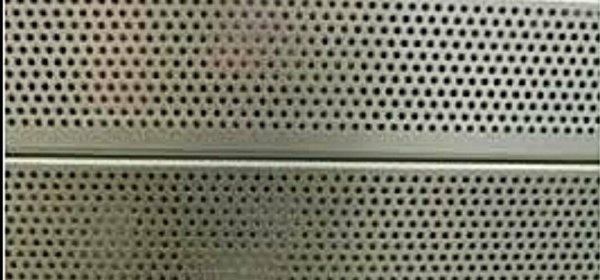 lámina microperforada