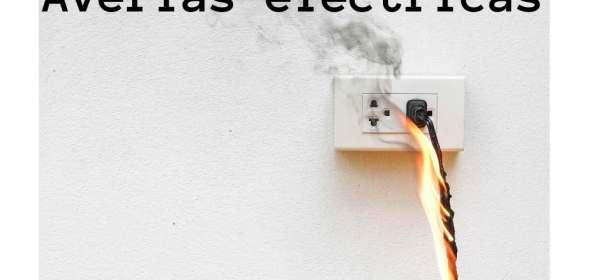 cable encendido para ilustrar un daño eléctrico